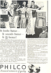 Click here to enlarge image and see more about item ad0584: Philco Radio Ad ad0584 1932