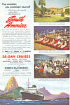 Moore McCormack  South American Cruises Ad ad0586