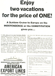 Click here to enlarge image and see more about item ad0588: American Export Lines SS Independence Ad