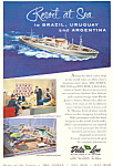 Click here to enlarge image and see more about item ad0605: Delta Line Resort at Sea Ad