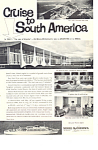 Moore Mccormick Lines Cruise South America Ad ad0606