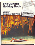 Click here to enlarge image and see more about item ad0608: The Cunard Holiday Book Ad ad0608