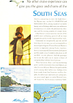 Matson Lines South Seas Ad
