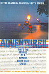 Matson Lines Adventure South Seas Ad