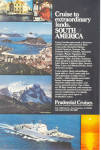 Prudentilal Cruises to South America Ad ad0620