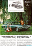 Click here to enlarge image and see more about item ad0641: 1971 Dodge Coronet AD ad0641