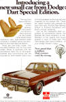 Click here to enlarge image and see more about item ad0642: 1974 Dodge Dart Special Edition AD