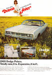 Click here to enlarge image and see more about item ad0645: 1969 Dodge Polara  Ad