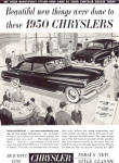 Click here to enlarge image and see more about item ad0656: 1950 All New Chrysler ad0656