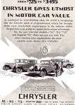 Click here to enlarge image and see more about item ad0661: Four Chryslers 75  52  62  80  ad0661