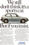 Click here to enlarge image and see more about item ad0714: 1981 Honda Civic GL