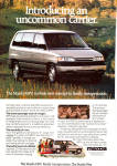Click here to enlarge image and see more about item ad0742: Mazda 1989 MPV ad0742