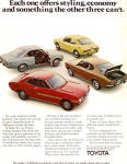 Click here to enlarge image and see more about item ad0745: Toyota Corolla Corona MK II and Celica ST ad0745
