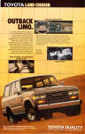 Click here to enlarge image and see more about item ad0751: 1987 Toyota Land Cruiser ad0751