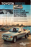 Click here to enlarge image and see more about item ad0756: Toyota SR 5 Xtracab Sport Truck ad0756