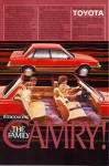 Click here to enlarge image and see more about item ad0759: 1983 Toyota Camry ad0759