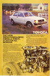 Click here to enlarge image and see more about item ad0766: 1982 Toyota Corolla Tercel 2 Door Sedan ad0766