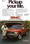 Click here to enlarge image and see more about item ad0774: 1984 GMC S 15 4X4 Pickup ad0774