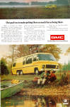 Click here to enlarge image and see more about item ad0776: GMC MotorHome ad0776