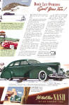 Click here to enlarge image and see more about item ad0785: Nash LaFayette 4 Door Sedan ad0785