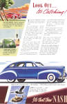 Click here to enlarge image and see more about item ad0786: 1939 Nash 4 Door Sedan ad0786
