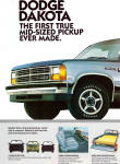 Click here to enlarge image and see more about item ad784: 1986 Dakota AD ad784