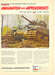 Sherman Tank Mud Shoes Chrysler Ad 1945