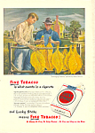 Click here to enlarge image and see more about item adl0015: Lucky Strike Cigarettes Ad