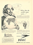 BOAC Shakespeare Ad 1947