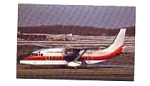 United Express Shorts Airline Postcard