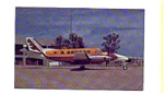 Click here to enlarge image and see more about item apr0352: Chaparrel Airlines Beech C99 Airline Postcard