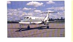Brockway Air Beech 1900C Airline Postcard