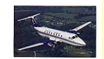 Colgan Airways Beech 1900C Airline Postcard