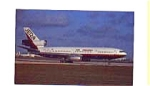 Jet 24 DC-10 Airline Postcard apr0358