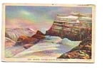 Click here to enlarge image and see more about item apr0554: Grinnell Glacier Glacier National Park MT Postcard apr0554