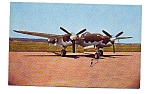 Click here to enlarge image and see more about item apr1162: P-38L Lightning Postcard