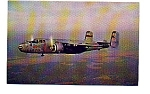 Click here to enlarge image and see more about item apr1164: B-25 Mitchell Bomber Postcard