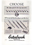 Click here to enlarge image and see more about item apr1754: Esterbrook Pen 1952  Line Ad apr1754