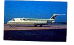 Ozark DC-9 Airline Postcard apr2253