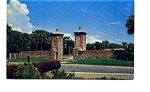 St Augustine City Gate Postcard apr2257