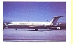 Florida  Express BAC-111 Airline Postcard apr2758
