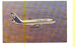 Air New Zealand 737 Airline Postcard apr2763