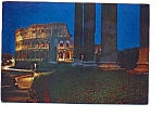 Click here to enlarge image and see more about item apr2858: Roman Colosseum at Night Postcard apr2858
