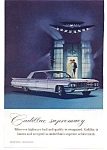 Cadillac Sedan de Ville Ad w/ Winston Jewels