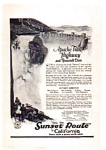 Click here to enlarge image and see more about item auc012301: Southern Pacific Railroad Ad 1923