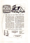Click here to enlarge image and see more about item auc012303: Plate Glass Manufactorers Ad auc012303 1923