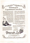 Click here to enlarge image and see more about item auc012306: French Line Ad 1923