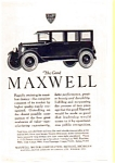 Click here to enlarge image and see more about item auc012310: 1923 Maxwell Motors Ad auc012310