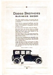 1923 Dodge Business Sedan AD