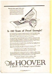Click here to enlarge image and see more about item auc012321: Hoover Cleaner Ad  Jan 1923
